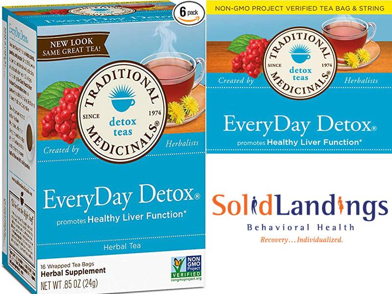 Traditional Organic Detox Tea  Review