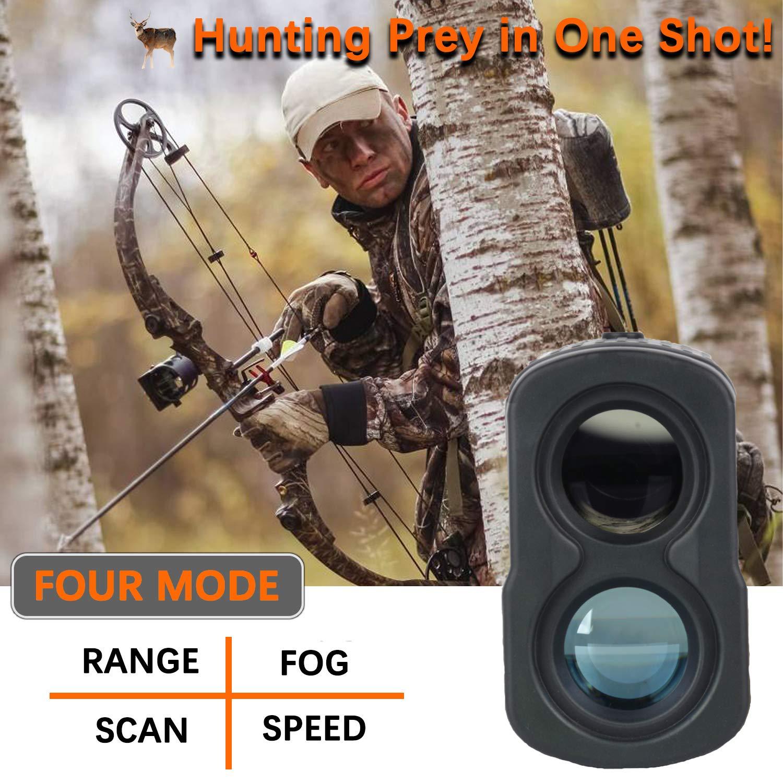 AOFAR Hunting Archery Range Finder-700 Yards Waterproof Laser Rangefinder