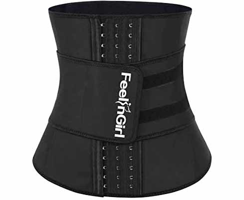 12.FeelinGirl-Womens-Latex-Underbust-Corset-Waist-Training-Trainer-Sport-Girdle-1[1]