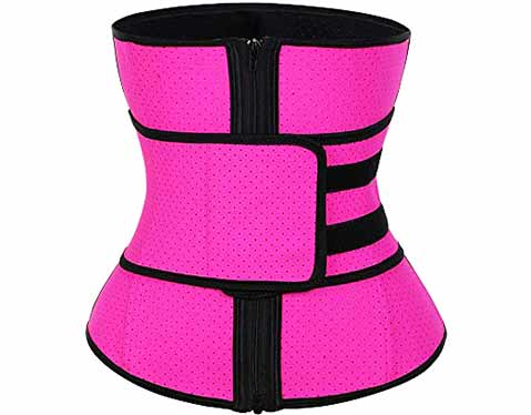 12.FeelinGirl-Womens-Latex-Underbust-Corset-Waist-Training-Trainer-Sport-Girdle-2[1]