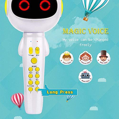 7. BONAOK Kids Wireless Bluetooth Karaoke Microphone