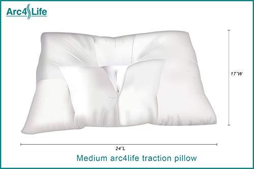 1. Arc4life Cervical Neck Traction Pillow-2
