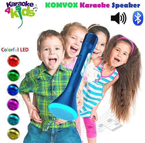 8. KOMVOX Kids Children's Bluetooth Karaoke Machine