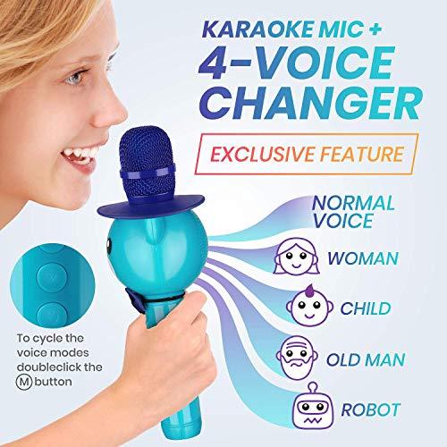11.KaraoKing Wireless Karaoke Microphone for Kids