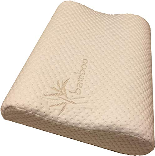 3. Thin Profile Memory Foam Neck Pillow