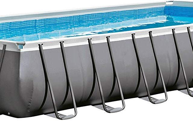 Intex Ultra Frame 32ft x 16ft x 52in Rectangular Pool Set