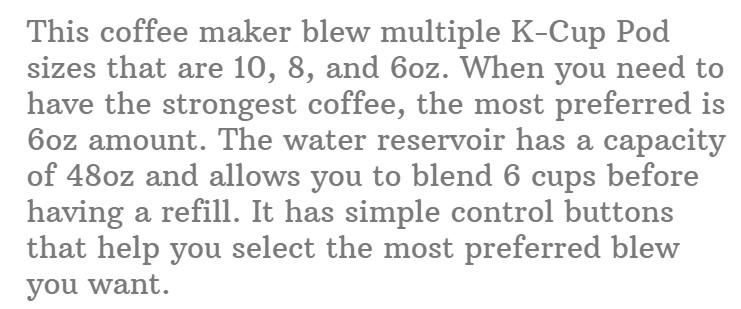 9. Keurig K-Classic Coffee Maker