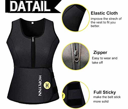 9.HOPLYNN-Neoprene-Sauna-Sweat-Waist-Trainer-Vest-for-Weight-Loss-with-Zipper-for-Women-2[1]