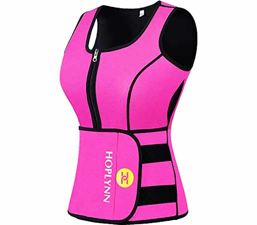 9.HOPLYNN-Neoprene-Sauna-Sweat-Waist-Trainer-Vest-for-Weight-Loss-with-Zipper-for-Women-3[1]