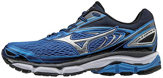 Mizuno Men's Wave Inspire Tennis Shoe for Flat Feet Athletes