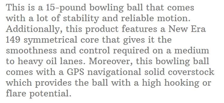 Pyramid Bowling Ball