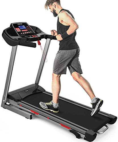 Merax Heavy Duty Treadmill with Large LCD Panel