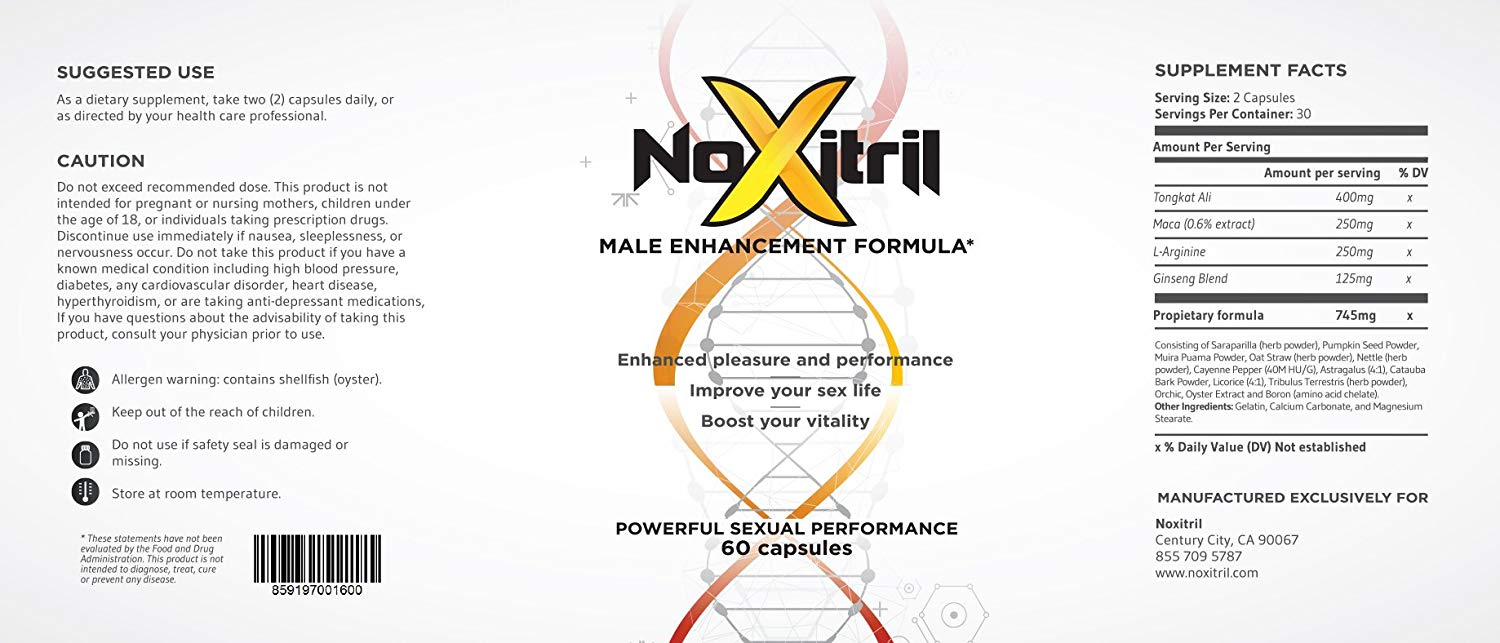 Benefits of Noxitrill 1