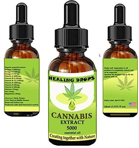 5. Cannabis Therapeutic Grade CBD Essential Oil