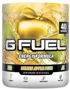 G Fuel Golden Apple Pear Tub (40 Servings)
