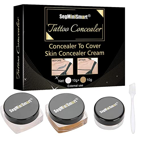 Toullgo Professional Waterproof Tattoo Concealer Set