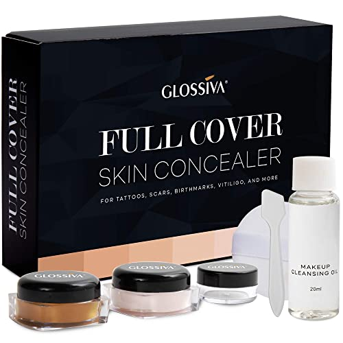 Glossvia Waterproof Tattoo Concealer